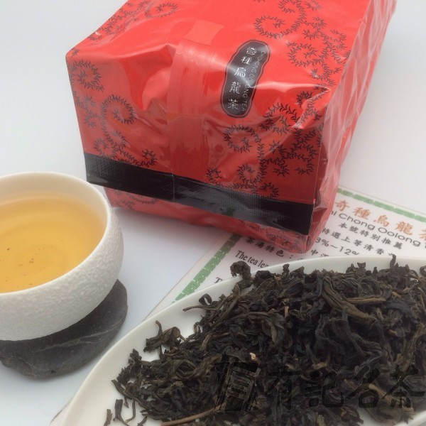 奇種烏龍茶-包種 -800/斤 (限量) Chi Chong Oolong-Pouchong-Red Label (Limited Edition)*
