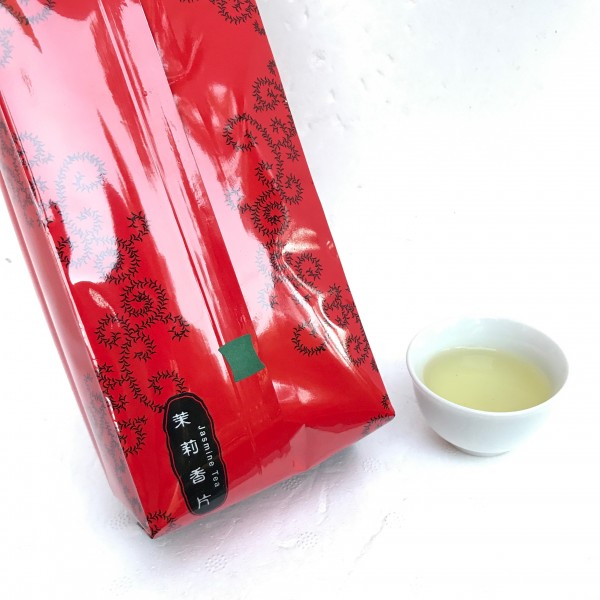 茉莉香片-2400/斤 Jasmine Tea-Green Label